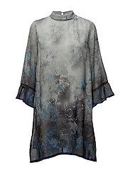 Claudia Dress - ROYAL NAVY BLUE