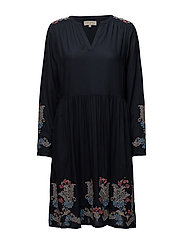 Oprah Dress - ROYAL NAVY BLUE