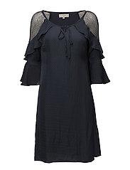 Petrine Dress - BLACK IRIS