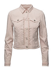 Tilde jacket long sleeve - SEPIA ROSE