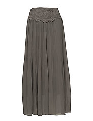 Sala Skirt - GREY FLANNEL