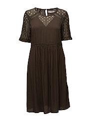 Zana Dress - CROCODILE GREEN