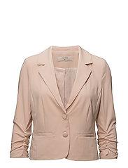 Esther 3/4 sleeve Blazer - ROSE DUST
