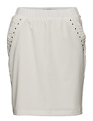 Verona Skirt - CHALK