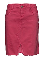 Lotte Twill Skirt - HOT PINK
