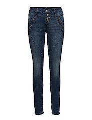 Cargo Jeans - Baiily fit - CLEAR BLUE DENIM
