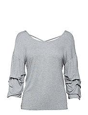 Valerie blouse - LIGHT GREY MELANGE