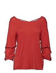 Valerie blouse - SCARLET ORANGE