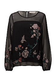 Camily Blouse - PITCH BLACK