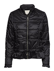 Crystal short Jacket - PITCH BLACK