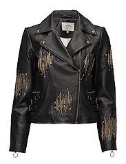 Adeline Jacket - PITCH BLACK