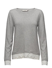 Lavalin Pullover - LIGHT GREY MELANGE