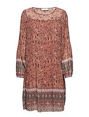 Tara Dress - SUN BROWN