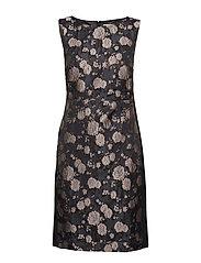 Ina Dress - overknee - PITCH BLACK
