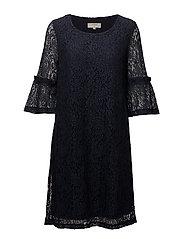 Felina lace dress - ROYAL NAVY BLUE