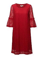 Felina lace dress - TRUE RED