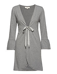 Chanella Cardigan - DARK GREY MELANGE