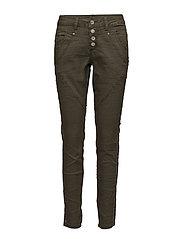 Stine Twill pants- Bailey fit - CROCODILE GREEN