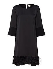 Bibila Dress - PITCH BLACK