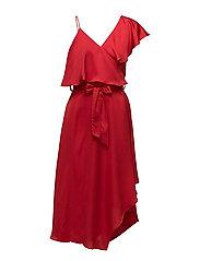 Melina Dress - AMERICAN BEAUTY RED