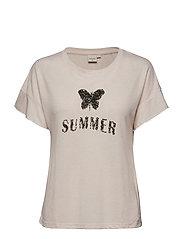 Sandy T-shirt - VINTAGE ROSE