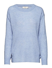 Zoey Knit Pullover - LAVENDER BLUE