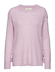 Zoey Knit Pullover - LAVENDER PURPLE