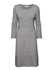 Liala Dress - LIGHT GREY MELANGE