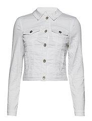 Lotte Twill Jacket LS - CHALK