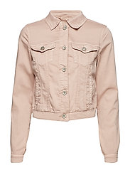 Lotte Twill Jacket LS - VINTAGE ROSE