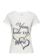 Liana Tshirt - CHALK