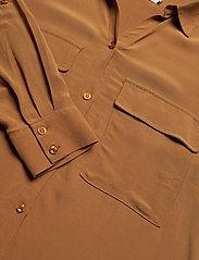 Cream - Milanie Shirt - blouses à manches longues - bronzed - 3