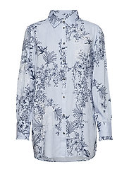 Juliana long shirt - LAVENDER BLUE