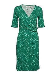 Alexa Dress - BOTTLE GREEN