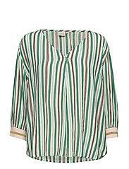 Cerissa blouse - BOTTLE GREEN