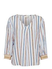 Cerissa blouse - CASHMERE BLUE