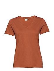 Naia T-shirt - BAKED CLAY
