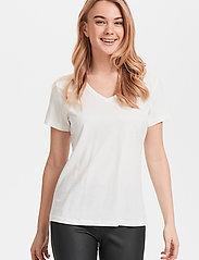 Cream - Naia T-shirt - t-shirts - chalk - 0