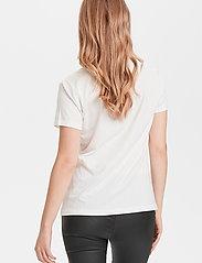 Cream - Naia T-shirt - t-shirts - chalk - 4