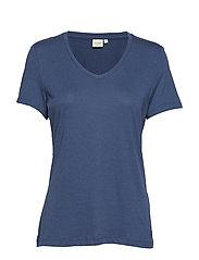 Naia T-shirt BCI - DARK DENIM