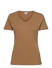 Naia T-shirt - TOASTED COCONUT