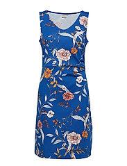 Lara Dress - LIMOGES BLUE
