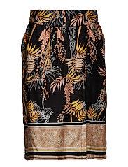 Monique Skirt - PITCH BLACK