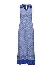Georgia long dress - DEEP ULTRAMARINE
