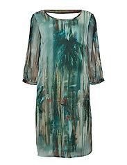 Jeanne Dress - MALACHITE GREEN