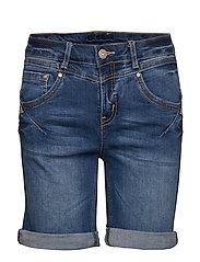 Amalie shorts- Shape fit - RICH BLUE DENIM