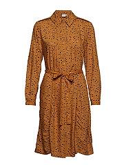 Gemina Dress - YELLOW GOLD