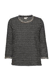 Caney blouse - PITCH BLACK
