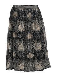 Shaky skirt - PITCH BLACK
