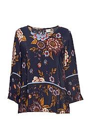 Ranja blouse - CAPTAIN NAVY